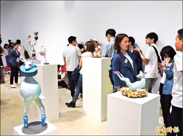 新北市免費提供三處展演空間,幫學子省荷包。(記者賴筱桐攝)