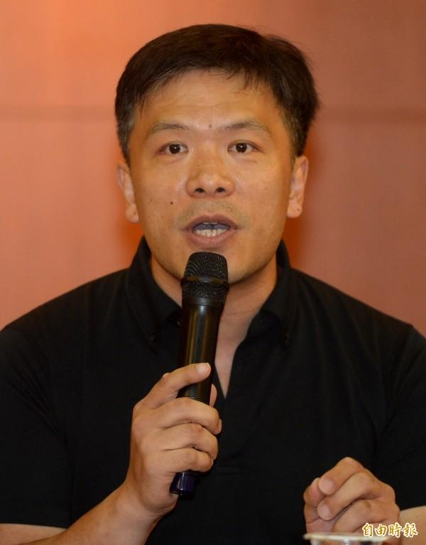 對於段宜康的批評,游梓翔表示是對等面對中國。(資料照,記者林正堃攝)
