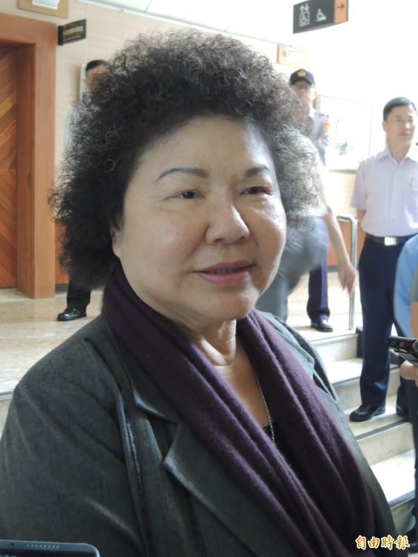 根據監察院「廉政專刊」,陳菊雖然存款增加逾1000萬元,不過,她名下並未持有任何有價證券,也無珠寶、古董或字畫,但她也沒有任何負債。(資料照,記者王榮祥攝)