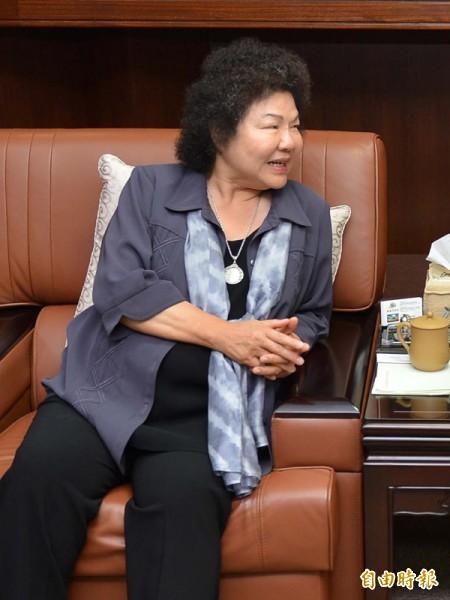 監察院公布最新一期財產申報資料,高雄市長陳菊的存款增加了1035萬餘元。(資料照,記者黃明堂攝)