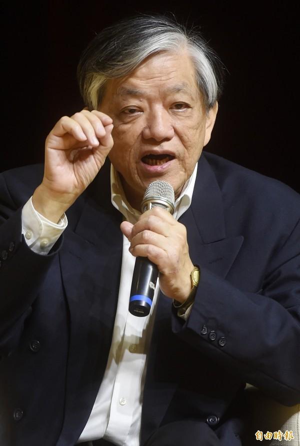 義美總經理高志明認為要禁美豬,要先搞清楚台灣有沒有養豬戶再用瘦肉精。(資料照,記者簡榮豐攝)