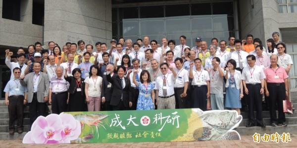 成大在安南校區舉辦「成大科研.社會責任」成果發表會,邀社區地方人士共襄盛舉。(記者洪瑞琴攝)