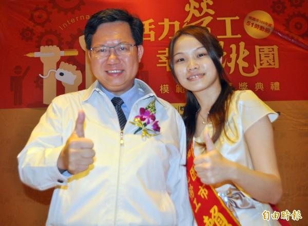 桃園市長鄭文燦表示,他已經和總統及賀陳旦談過此事,大家都很支持桃園鐵路地下化。(資料照,記者李容萍攝)