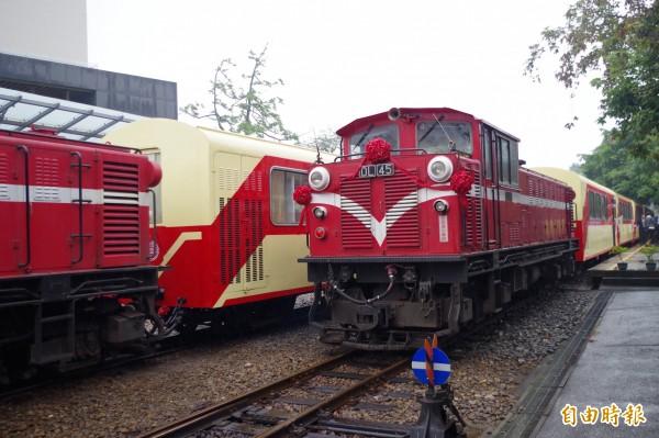 阿里山鐵路從5月1日起,票價將進行調漲。(資料照,記者王善嬿攝)
