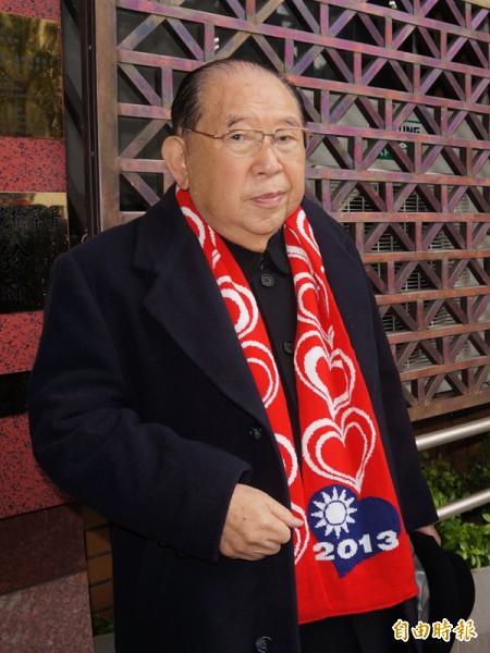 國民黨資深黨員、律師王可富。(資料照,記者錢利忠攝)
