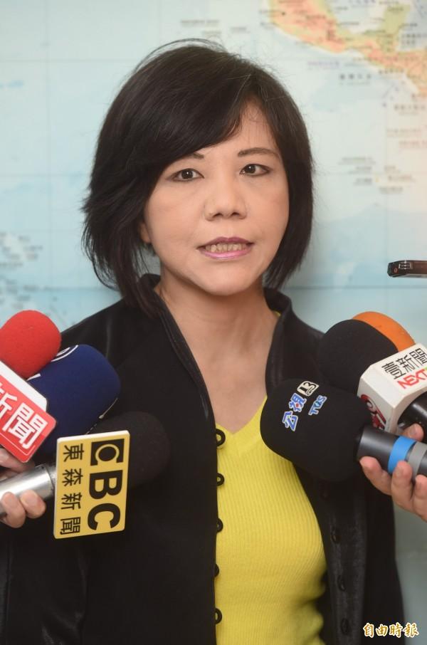 民進黨立委葉宜津透露,她曾當過立法院經費稽核委員會的委員,後來實在看不下去經費使用的狀況,憤而自己離開。(資料照,記者簡榮豐攝)