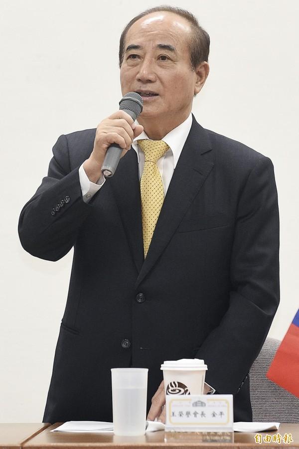 王金平對林錫山說「沉著」,讓監聽人員誤以為是「存摺」,讓偵辦人員意外查到林錫山的不明財產。(資料照,記者陳志曲攝)