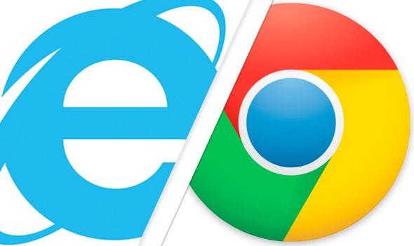 2016年4月,Chrome超越IE成為全球最多人使用的瀏覽器。(圖擷自blogs.which.co.uk)