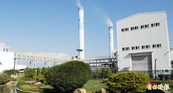 台塑麥寮發電廠。(資料照,記者林國賢攝)