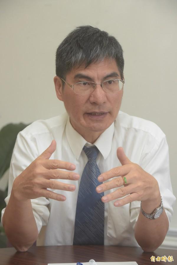 台大副校長陳良基年年問台大生「願花多少錢聘自己」。(資料照,記者黃耀徵攝)