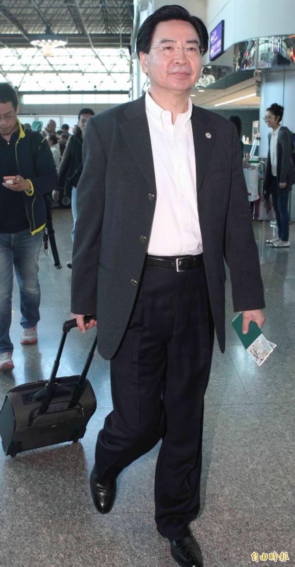 包括準國安會秘書長吳釗燮(圖)在內的新政府國安團隊,討論過後決定派林奏延出席WHA。(資料照,記者姚介修攝)