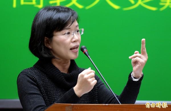 蘇巧慧表示,這次WHA邀請函以幾近侮辱我國主權的方式呈現,就是馬政府過去屈從中國的結果。(資料照,記者林正堃攝)
