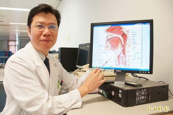 大林慈濟醫院睡眠中心主任黃俊豪發現,有睡眠呼吸中止症的成人未來發生帕金森氏症的機率,比無此病者增加84%。(資料照,記者林宜樟攝)