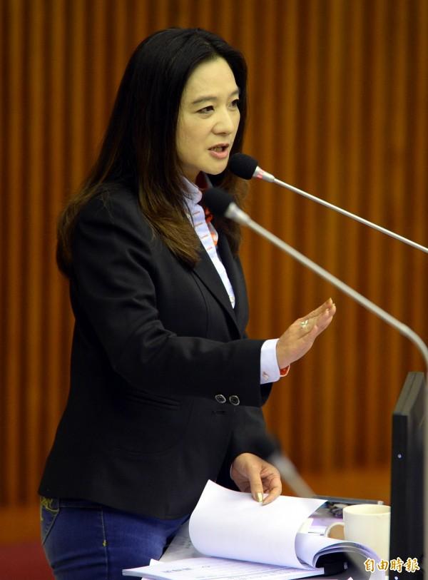 矯正署直指台北市議員應曉薇只是北所的「社會志工」並非「教誨志工」。(資料照,記者林正堃攝)