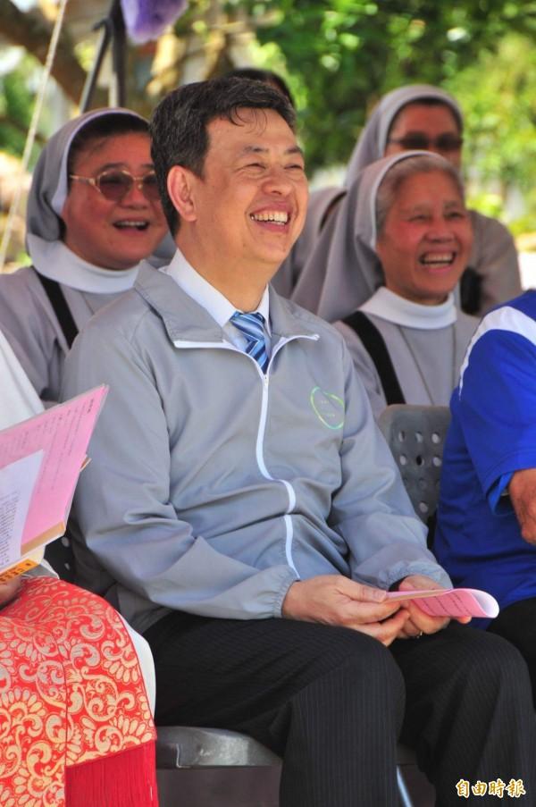身兼中央研究院院士的副總統當選人陳建仁今天說,這次中研院院長遴選過程「合理、合法」。(資料照,記者花孟璟攝)