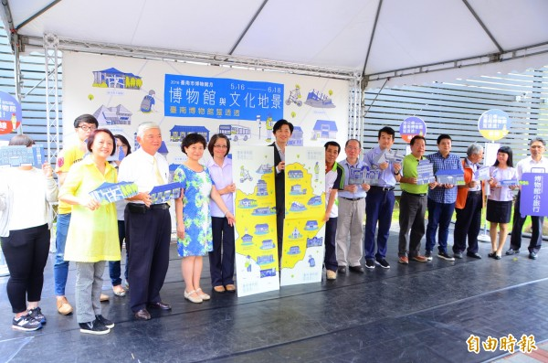 南市博物館月系列活動正式起跑,在玉井噍吧哖事件紀念園區熱鬧揭幕。 (記者吳俊鋒攝)