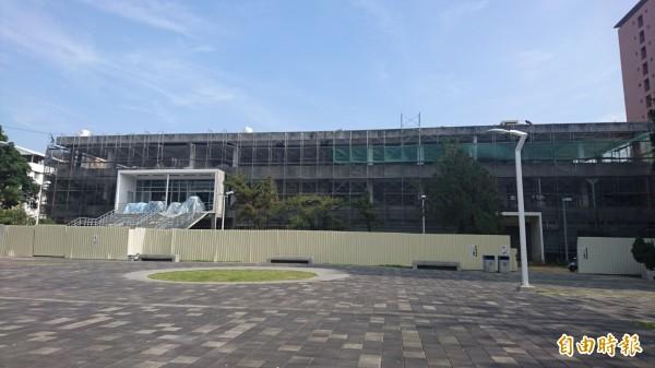 2017台灣設計展將在台南,市府規畫以成功大學K館為主館基地。(記者劉婉君攝)
