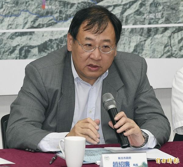 新北市政府捷運局長趙紹廉。(資料照,記者陳志曲攝)