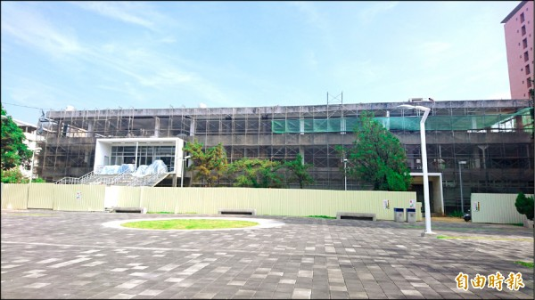 台南市爭取到二○一七台灣設計展合辦城市,將借用成功大學約八百坪的K館做為主館場地。(記者劉婉君攝)