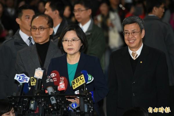 第14屆總統副總統就職大典20日登場,本報也將為讀者全程直播,一同見證台灣重要時刻。(資料照,記者張嘉明攝)