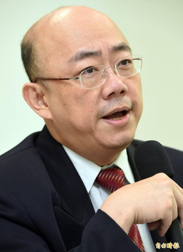 前立委郭正亮認為蔡英文的演說已向中國釋出善意。(資料照,記者羅沛德攝)