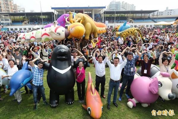 竹市吸引20萬人潮的兒童藝術節明年將續辦。(記者蔡彰盛攝)