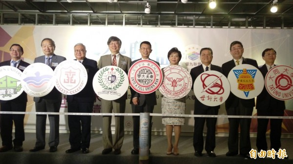 東吳大學發起結合大台北地區九所私立大學共同成立「優九聯盟Ulegue」,將透過「跨校領域」合作,共享師資、圖書等資源。(記者李盈蒨攝)
