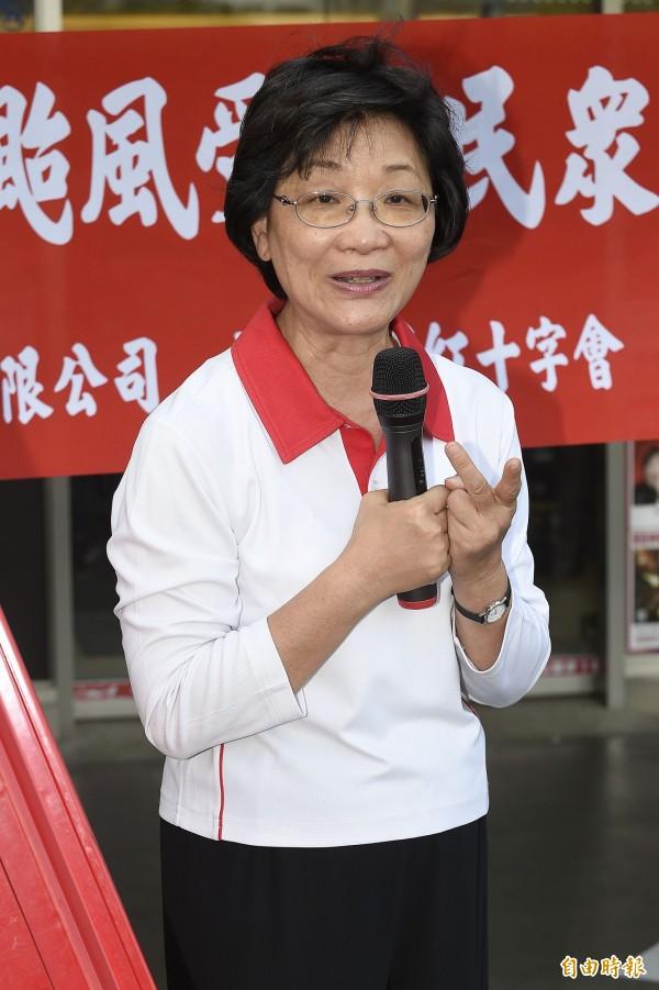 新政府廢止紅十字會專法,王清峰暗諷民進黨草莽、沒國際觀。(資料照,記者陳志曲攝)