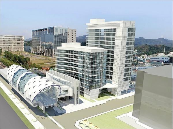 捷運三鶯線工程昨天決標,預計下半年開工,未來三鶯線會銜接頂埔站,方便民眾轉乘。(圖為模擬圖,捷運局提供)