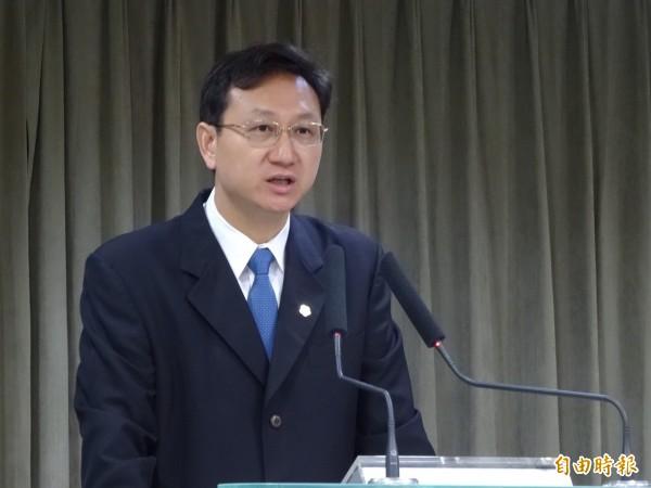 行政院發言人童振源表示,尊重江前院長的發言。(資料照,記者蘇芳禾攝)