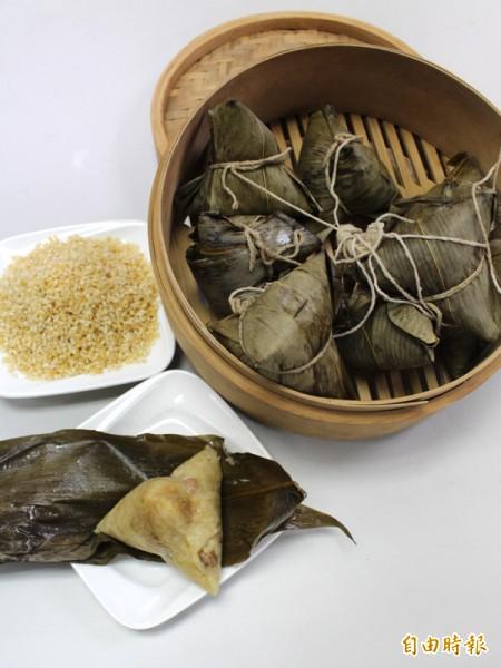 端午節粽子原料上漲。(資料照,記者陳燦坤攝)