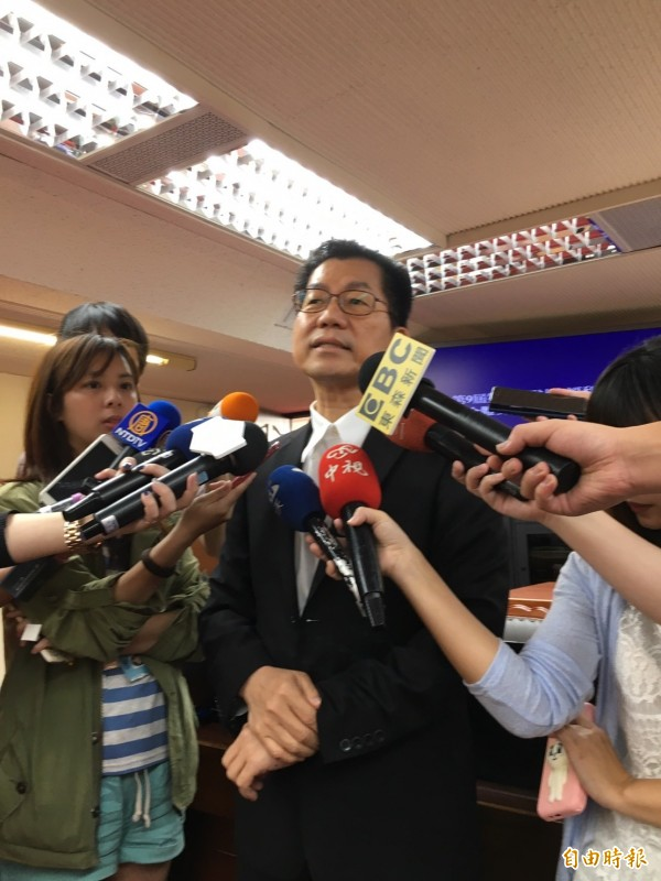 環保署長李應元今首次進立院報告並備詢。(記者楊綿傑攝)