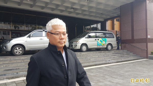 藝人巫啟賢於今年3月間曾因傷害案到北檢出庭。(資料照,記者錢利忠攝)