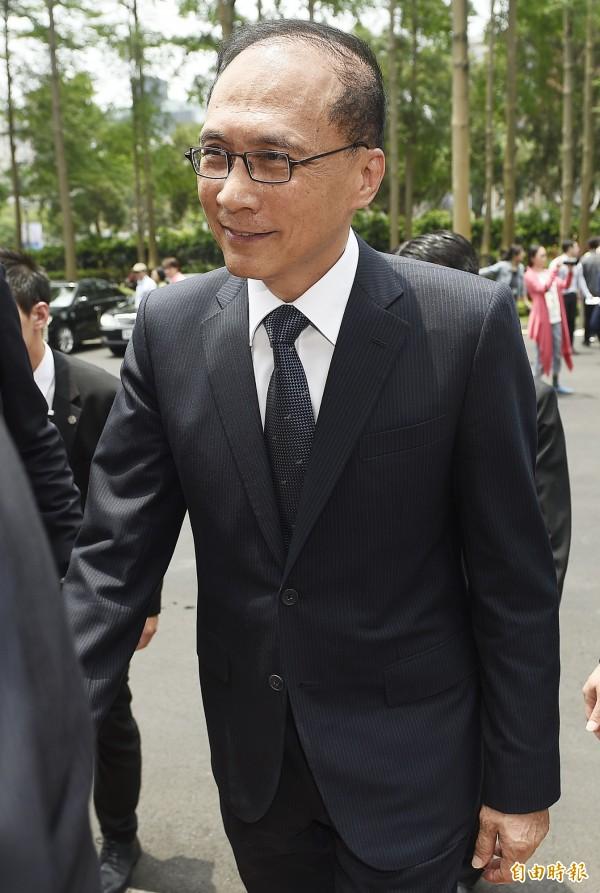 林全表示,2006年離開行政院後就沒有踏入立法院過,他也透露:「民進黨沒過半,我是不想再進立法院。」(資料照,記者陳志曲攝)