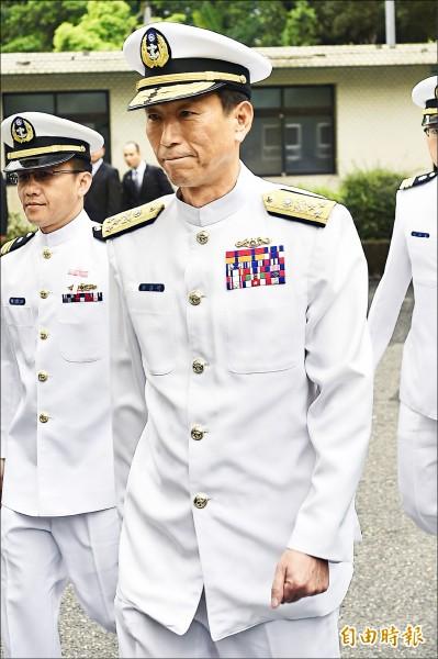 國防部軍政副部長由海軍司令李喜明上將接任(資料,記者陳志曲攝)
