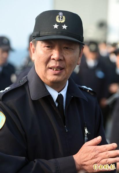 海軍副司令黃曙光中將晉升上將並出任海軍司令。(資料照)