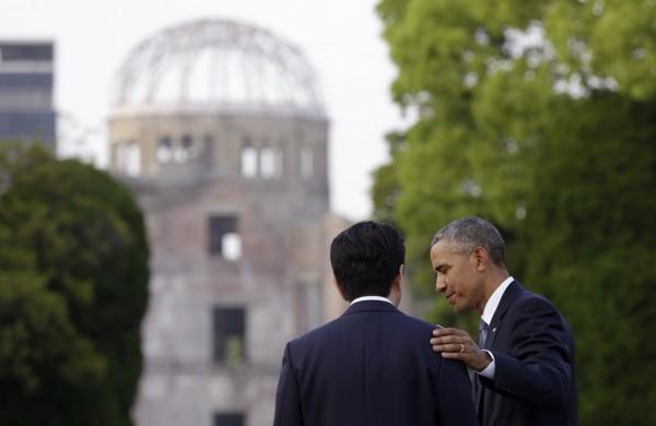 最近美國總統歐巴馬訪問過去被美軍投原子彈的日本廣島,他是二戰後首位訪問廣島的美國總統。(美聯社)