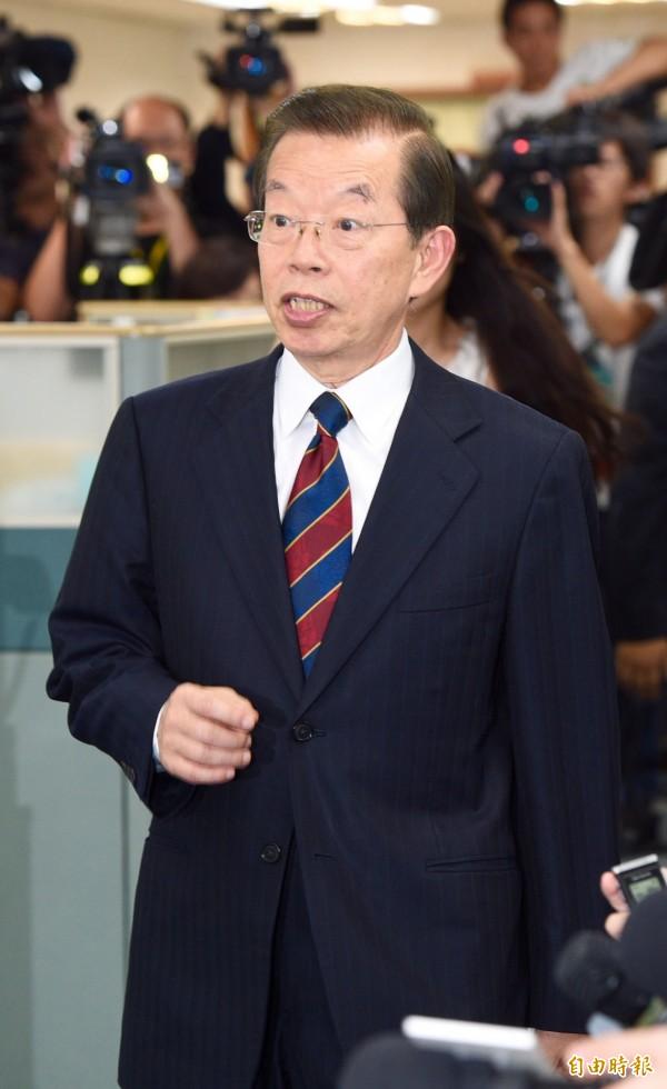 謝長廷表示,目前台灣駐日辦事處的名稱、形式都有些複雜,但這是國際處境下不得不的結果。(資料照,記者羅沛德攝)