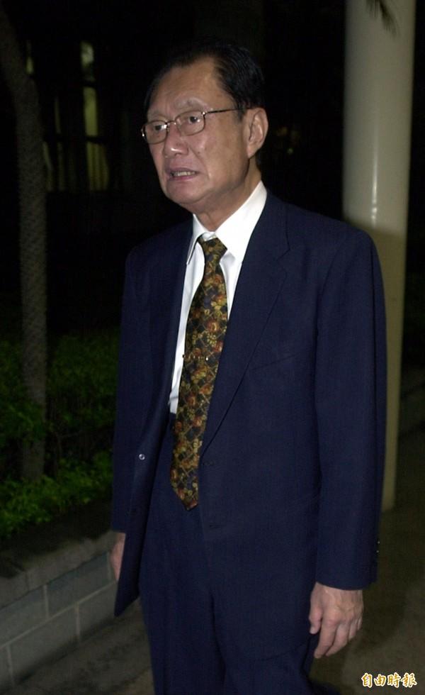前立法院長劉松藩。(資料照)