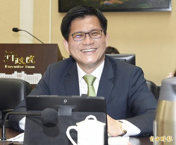 台中市長林佳龍強攻五大創新產業在台中。(資料照,記者陳志曲攝)