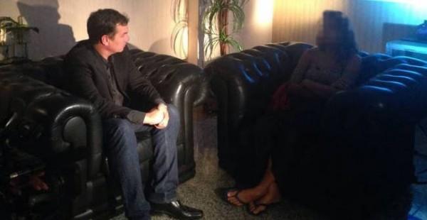 巴西一名16歲少女遭33男性侵,影片還PO到網路。(圖擷取自Rede Record de Televisão)
