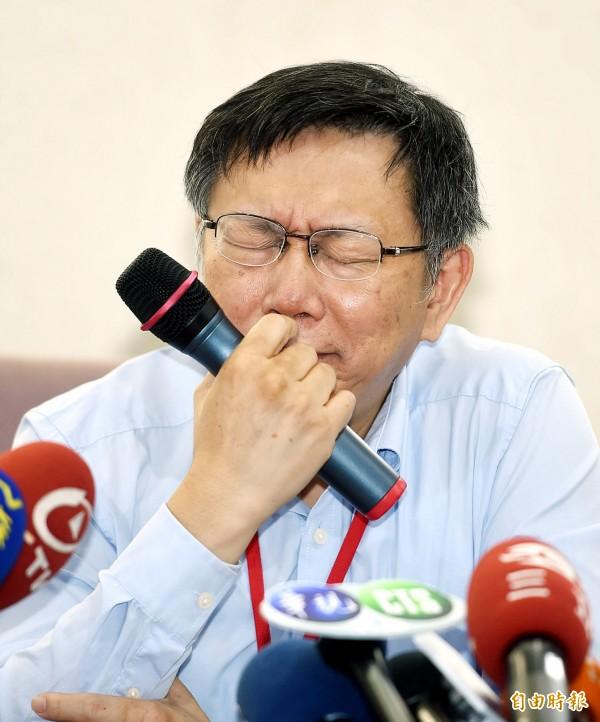 台北市長柯文哲的滿意度位居6都最後一名。對此財金文化董事長謝金河表示,這顯示出2018年的台北市長選舉狀況一定會不一樣,柯P恐怕會受到藍綠夾殺。(資料照,記者方賓照攝)