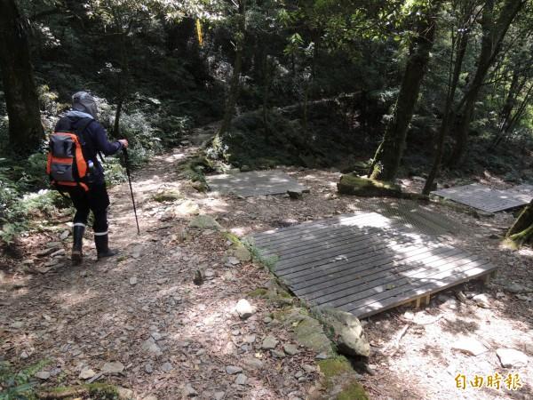 7月1日起登北大武山露營要收費。(記者李立法攝)