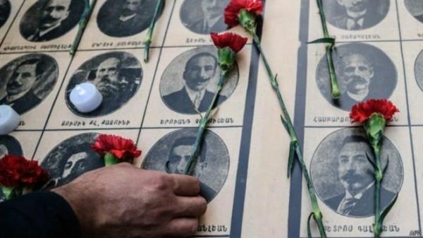 電影「A級控訴」講述亞美尼亞人在一戰期間遭土耳其人大屠殺的歷史,但土耳其當局一直以來否認。(法新社)