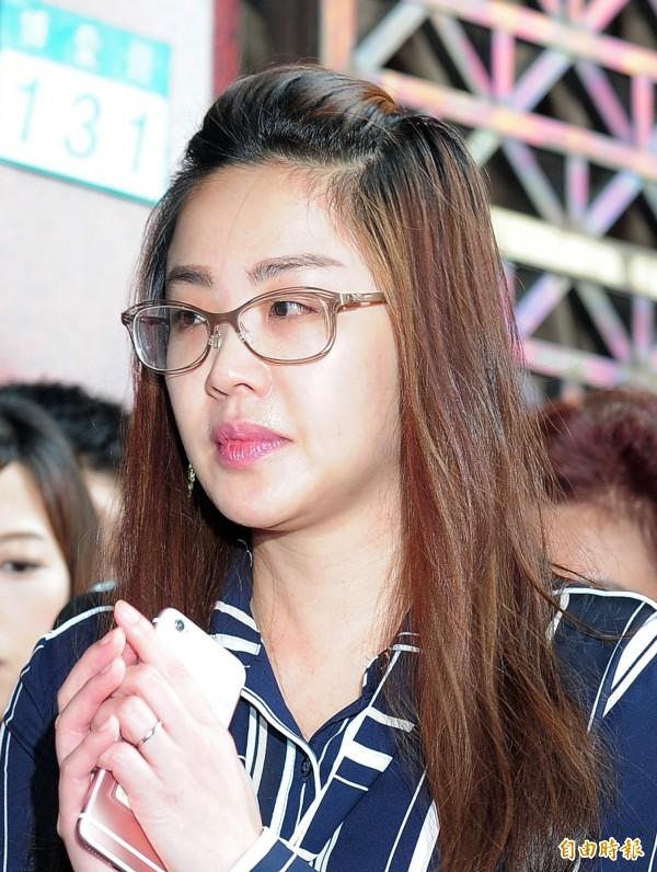 網路流傳疑似李婉鈺的性愛影片,李婉鈺認為名譽受損,已由服務處向警方提告。(資料照,記者王藝菘攝)
