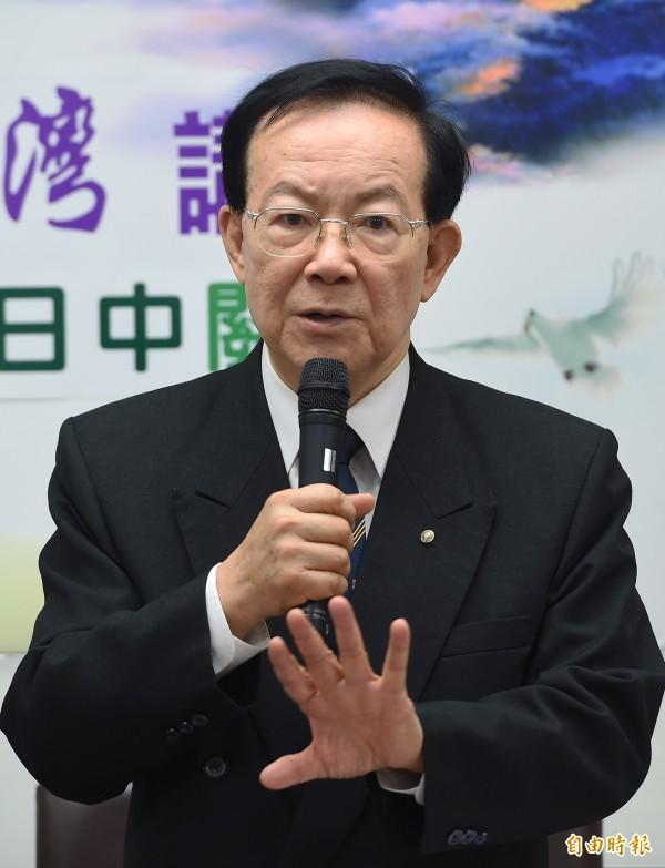 城仲模認為:台灣在五權之外,還有札實的「三權」環顧,包括總統、國民大會、中國國民黨部。(資料照,記者廖振輝攝)
