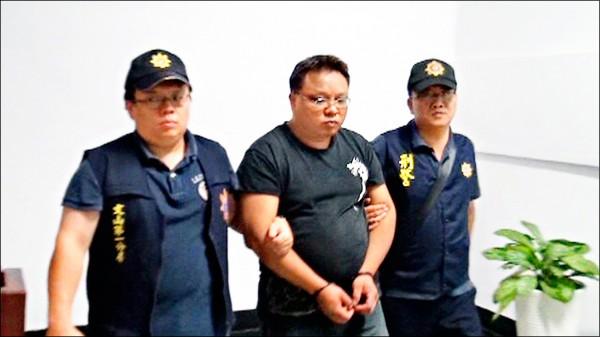 嫌犯劉豐彰遭警方移送法辦。(資料照,記者徐聖倫翻攝)