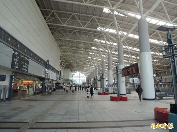 高鐵左營站。(資料照,記者王榮祥攝)