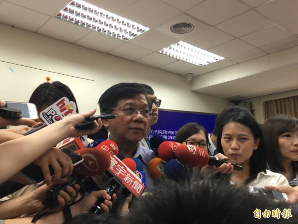 經濟部長李世光。(記者黃佩君攝)