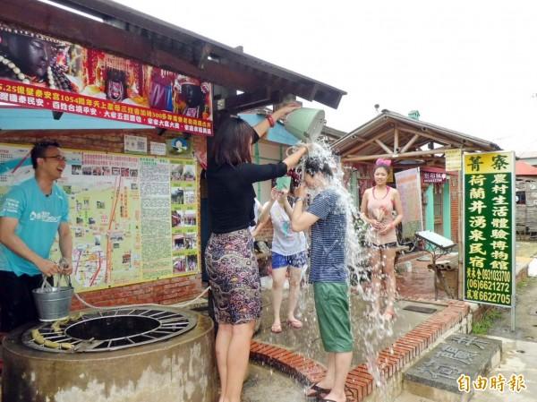 無米樂農村慶端午,9日將在300年歷史荷蘭古井祭拜水神,、送午時水。(資料照,記者王涵平攝)